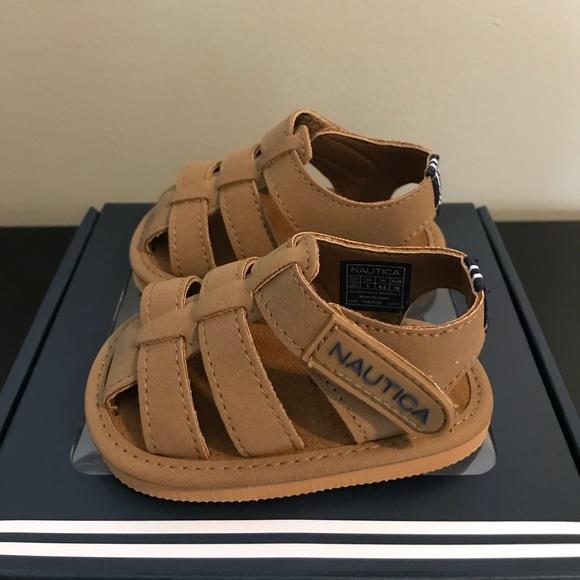 1ad232e7556 Baby boy Nautica sandals